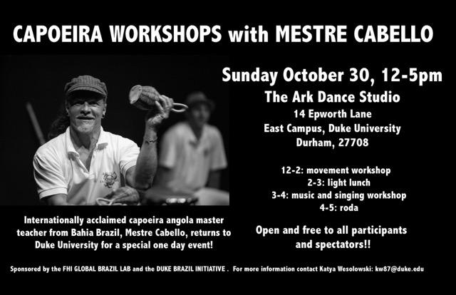 Capoeira October 30