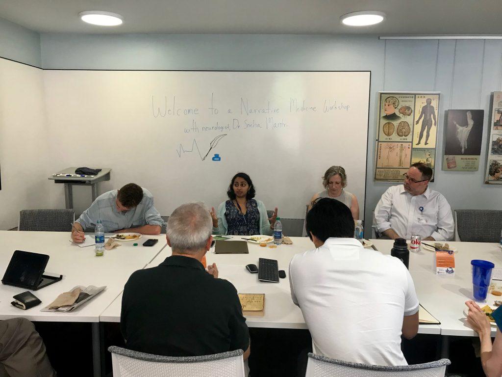 Narrative Medicine Workshops with Dr. Sneha Mantri