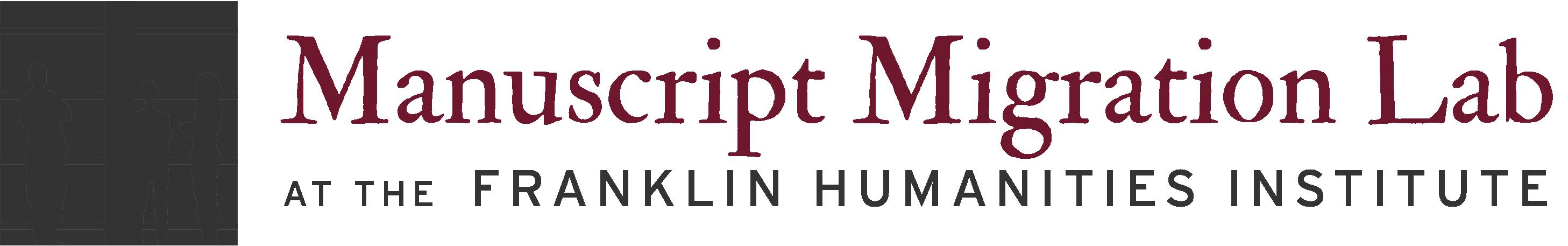 Manuscript Migration Lab
