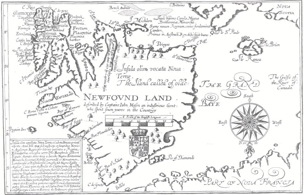 john mason  map 1617