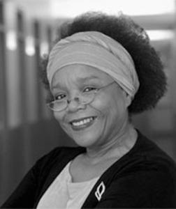 black and white headshot of marilyn thomas-houston