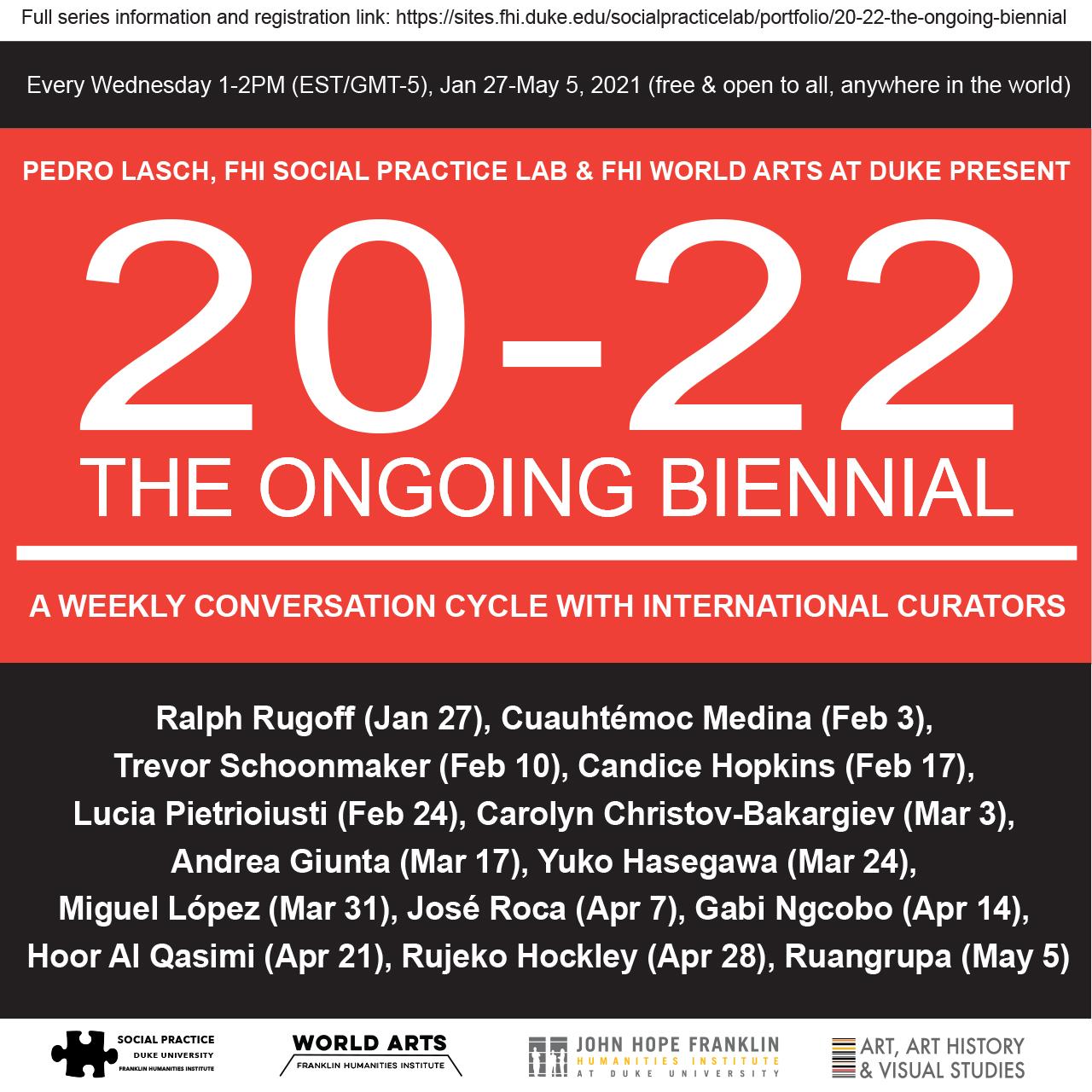 20-22 The Ongoing Biennial