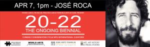 José Roca (Sydney Biennial Curator & FLORA ars+natura & LARA Collection Director) at 20-22 The Ongoing Biennial